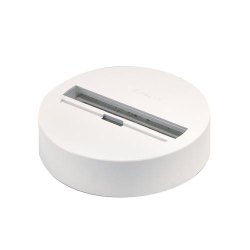 Marbel 1001526 SLV 3Ph | EUTRAC®, основание накладное для светильника с 3Ph-адаптером, 16A макс., белый 901
