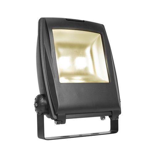 Marbel 1001645 SLV FLOOD LIGHT 32 светильник IP65 81Вт с LED 3000К, 6300лм, 90°, кабель 2м с вилкой, черный