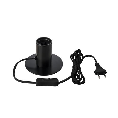 Marbel 1001676 SLV FITU TL светильник настольный для лампы E27 10Вт макс., черный