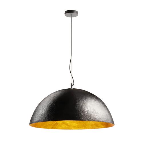 Marbel 1001701 SLV FORCHINI 70 PD светильник подвесной для лампы E27 40Вт макс., черный/ хром/ золото