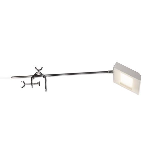 Marbel 1001857 SLV DALO DISPLAY светильник на струбцине 24Вт с LED 4000К, 1900лм, 120°, с выключателем, сер