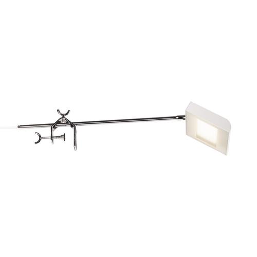 Marbel 1001858 SLV DALO DISPLAY светильник на струбцине 24Вт с LED 4000К, 1900лм, 120°, с выключателем, бел