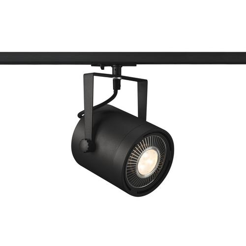 Marbel 1001860 SLV 1PHASE-TRACK, EURO SPOT ES111 светильник для лампы ES111 75Вт макс., черный