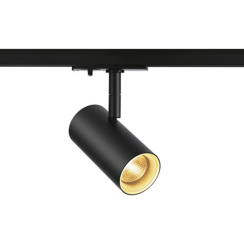 Marbel 1001862 SLV 1PHASE-TRACK, NOBLO SPOT светильник 7.5Вт c LED 2700К, 620лм, 36°, черный
