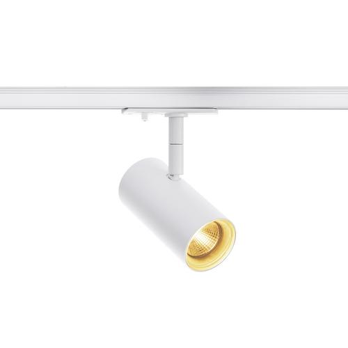 Marbel 1001863 SLV 1PHASE-TRACK, NOBLO SPOT светильник 7.5Вт c LED 2700К, 620лм, 36°, белый