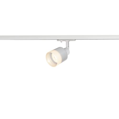 Marbel 1001869 SLV 1PHASE-TRACK, PURI GLASS светильник для лампы GU10 50Вт макс., белый/ стекло матовое