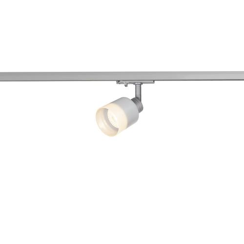 Marbel 1001870 SLV 1PHASE-TRACK, PURI GLASS светильник для лампы GU10 50Вт макс., серебристый/ стекло матов