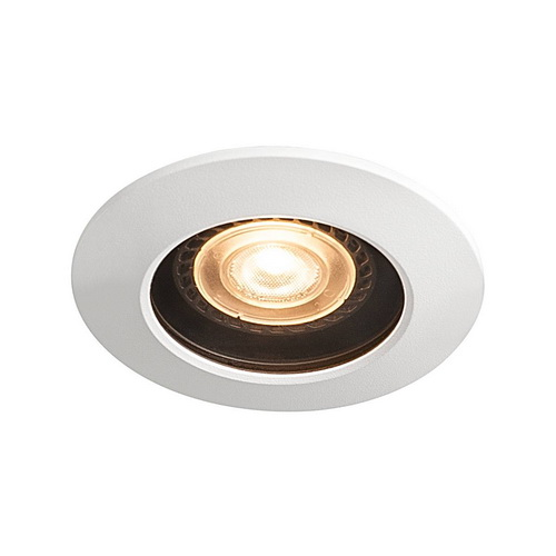 Marbel 1001931 SLV VARU GU10 светильник встраиваемый IP65 для лампы GU10 5.5Вт макс., белый