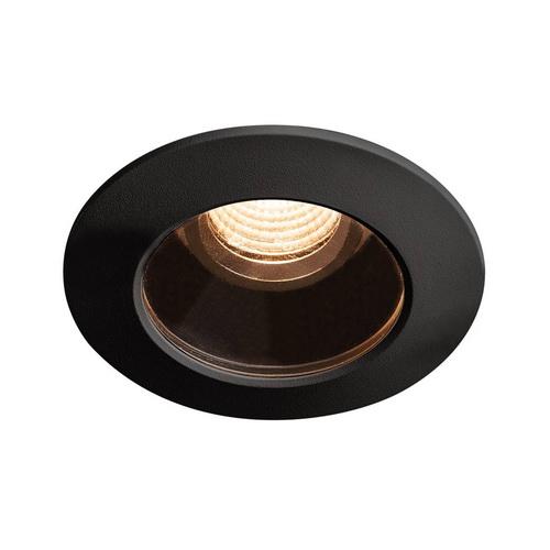 Marbel 1001932 SLV VARU LED светильник встраиваемый IP65 350мА 5Вт с LED 2700K, 400лм, 36°, черный