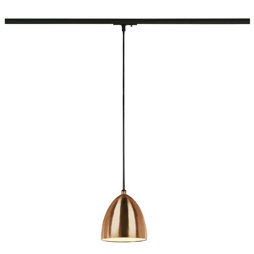 Marbel 1001968 SLV 1PHASE-TRACK, PARA CONE 14 светильник подвесной для лампы GU10 35Вт макс., матир. медь/