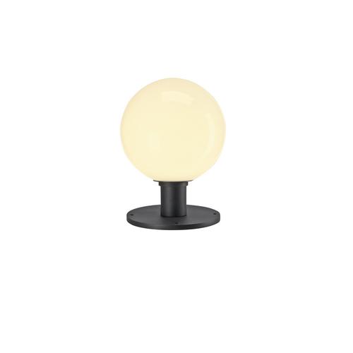 Marbel 1001999 SLV GLOO PURE 27 светильник ландшафт. IP44 для лампы E27 23Вт макс., антрацит/ стекло белое
