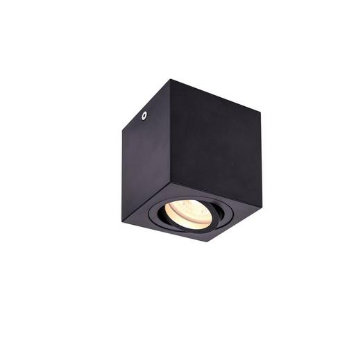 Marbel 1002013 SLV TRILEDO SQUARE GU10 CL светильник потолочный для лампы GU10 50Вт макс., черный