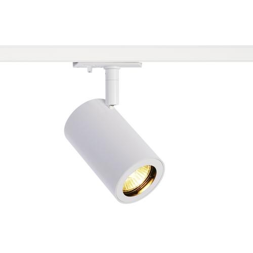 Marbel 1002111 SLV 1PHASE-TRACK, ENOLA_B SPOT светильник для лампы GU10 50Вт макс., белый