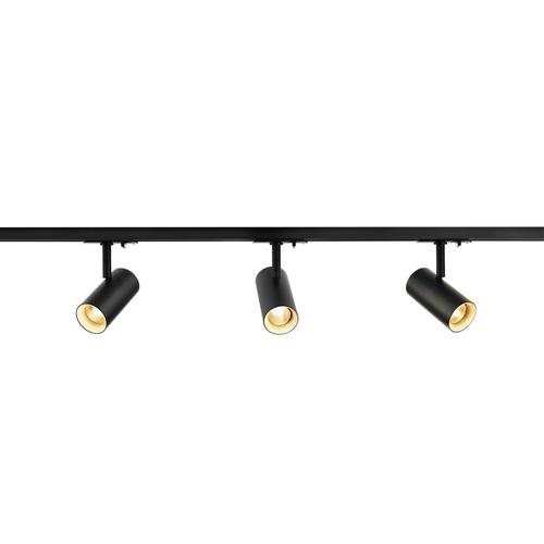 Marbel 1002610 SLV 1PHASE-TRACK, комплект из 2-х шинопроводов по 1м, 3-х NOBLO SPOT по 7.5Вт, аксессуаров,