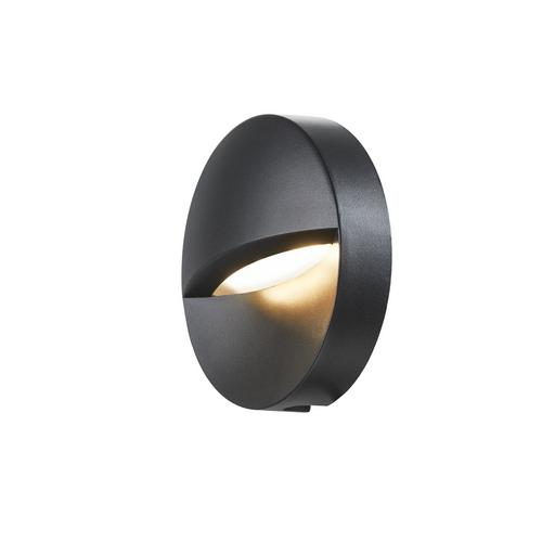 Marbel 1002868 SLV DOWNUNDER OUT round IP65 светильник настенный с LED 4,5Вт 3000/4000K, антрацит