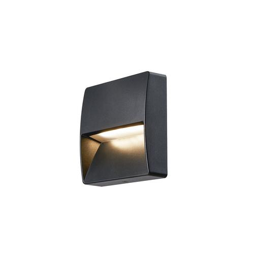 Marbel 1002869 SLV DOWNUNDER OUT square IP65 светильник настенный с LED 4,5Вт 3000/4000K, антрацит
