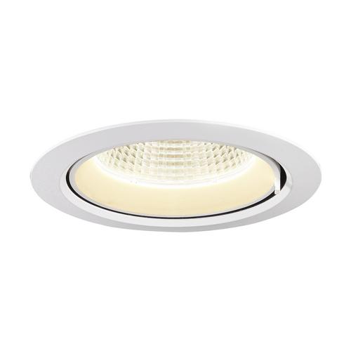 Marbel 1002887 SLV GIMBLE IN 175 светильник встраиваемый 1000мА 38Вт с LED 4000K, 3550лм, 40°, матовый белы