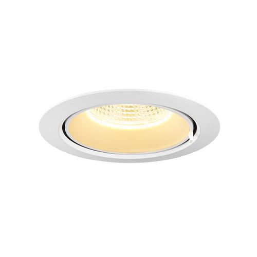 Marbel 1002888 SLV GIMBLE IN 150 светильник встраиваемый 700мА 25.5Вт с LED 3000K, 2300лм, 40°, матовый бел