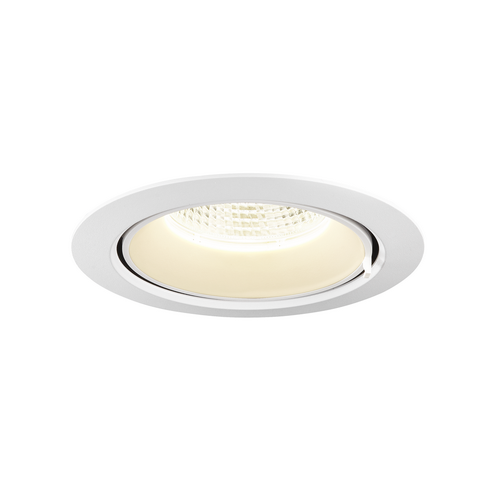 Marbel 1002889 SLV GIMBLE IN 150 светильник встраиваемый 700мА 25.5Вт с LED 4000K, 2490лм, 40°, матовый бел