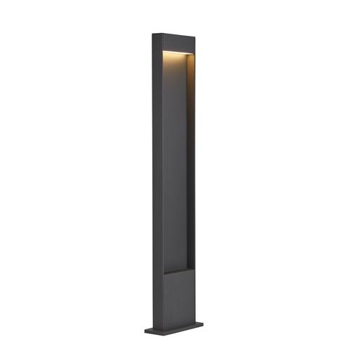 Marbel 1002958 SLV FLATT 100 светильник напольный IP65 с LED 9,7Вт, 3000/4000K, антрацит/коричневый
