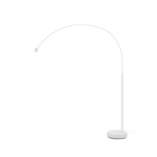Marbel 1003028 SLV FENDA BOW BASIS светильник напольный для лампы E27 40Вт макс., без абажура, белый