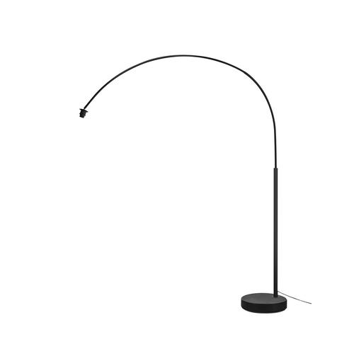 Marbel 1003029 SLV FENDA BOW BASIS светильник напольный для лампы E27 40Вт макс., без абажура, черный