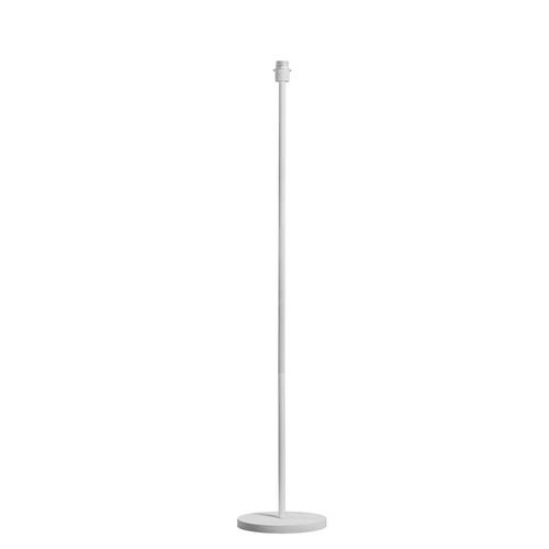 Marbel 1003031 SLV FENDA, светильник напольный для лампы E27 60Вт макс., шток, без абажура, белый