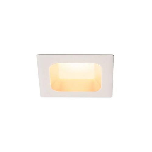 Marbel 112682 SLV VERLUX 75 светильник встраиваемый 12Вт с БП и LED 3000К, 880лм, 80°, белый