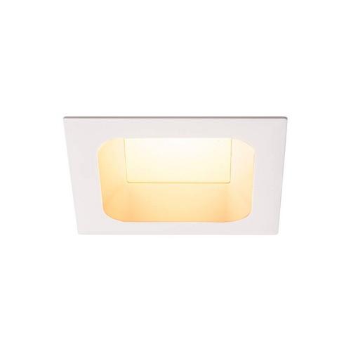 Marbel 112692 SLV VERLUX 125 светильник встраиваемый 22Вт с БП и LED 3000К, 1800лм, 80°, белый