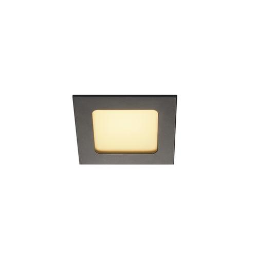 Marbel 112720 SLV FRAME BASIC LED SET светильник встраиваемый 9.4Вт с LED 3000К, 450лм, 90°, с БП, черный