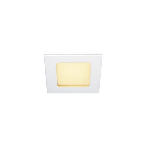 Marbel 112721 SLV FRAME BASIC LED SET светильник встраиваемый 9.4Вт с LED 3000К, 470лм, 90°, с БП, белый