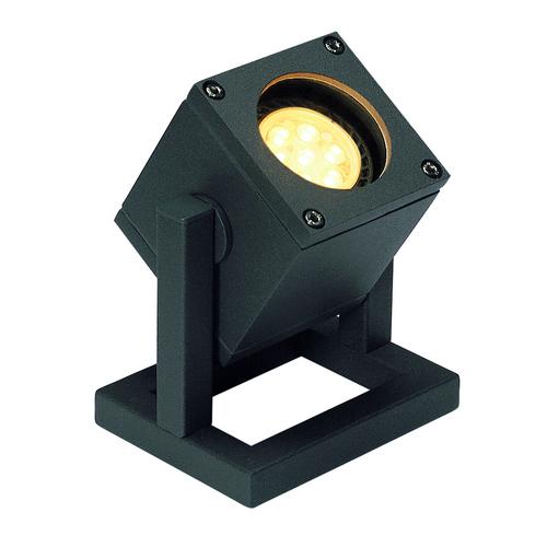 Marbel 132835 SLV CUBIX светильник напольный IP44 для лампы GU10 25Вт макс., антрацит