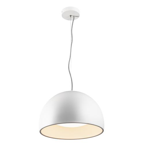 Marbel 133881 SLV BELA 40 светильник подвесной 24Вт с LED 3000К, 1350лм, белый