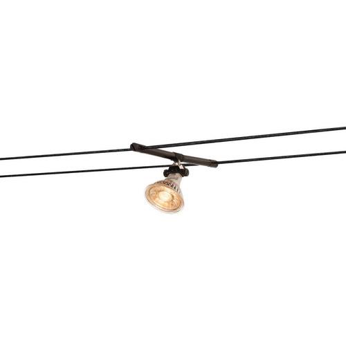 Marbel 139090 SLV TENSEO, COSMIC светильник 12В AC для лампы QR-C51 35Вт макс., черный (2 шт.)