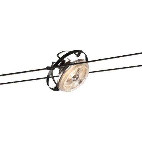 Marbel 139110 SLV TENSEO, WIRE QRB светильник 12В AC для лампы QR111 G53 50Вт макс., черный