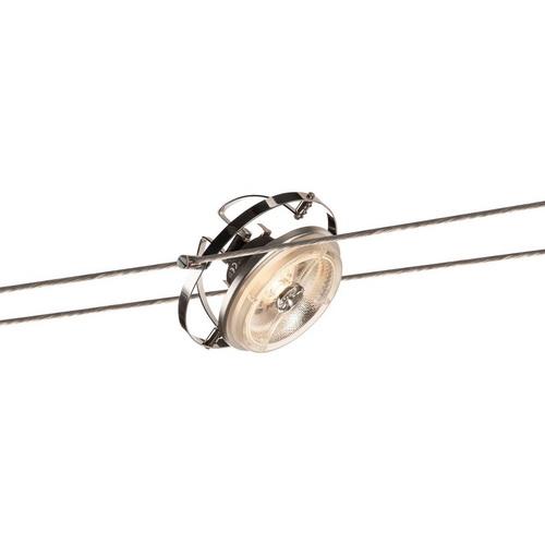 Marbel 139112 SLV TENSEO, WIRE QRB светильник 12В AC для лампы QR111 G53 50Вт макс., хром