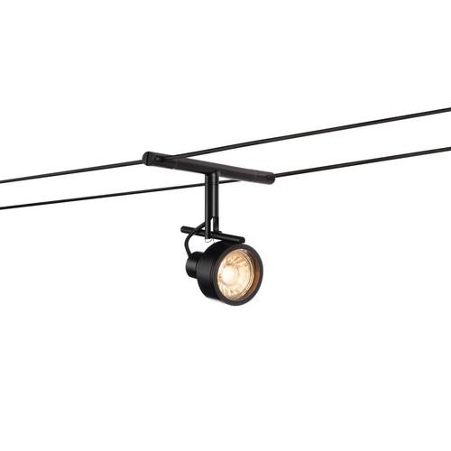 Marbel 139130 SLV TENSEO, SALUNA светильник 12В AC для лампы QR-C51 35Вт макс., черный