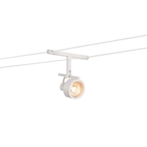 Marbel 139131 SLV TENSEO, SALUNA светильник 12В AC для лампы QR-C51 35Вт макс., белый