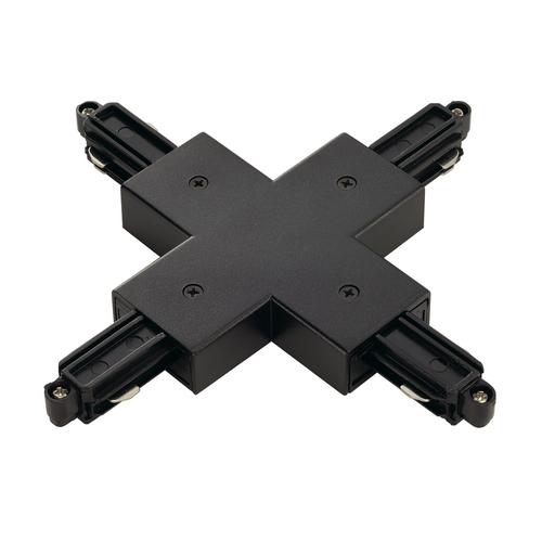 Marbel 143160 SLV 1PHASE-TRACK, X-коннектор с разъемом подвода питания, черный