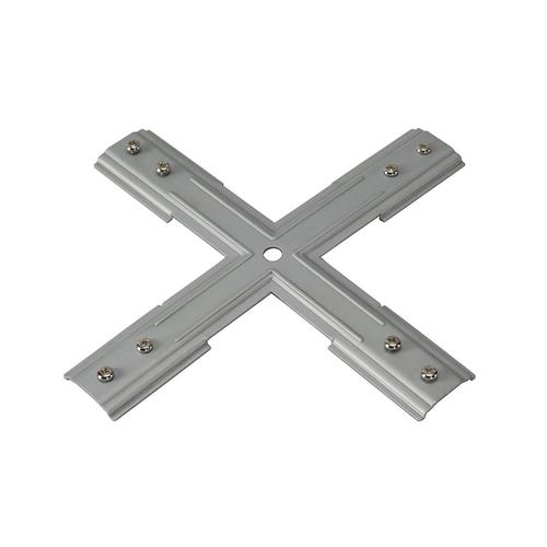 Marbel 143169 SLV 1PHASE-TRACK, X-коннектор механический, никель
