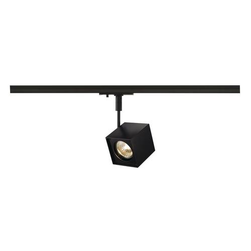 Marbel 143350 SLV 1PHASE-TRACK, ALTRA DICE светильник для лампы GU10 50Вт макс, черный