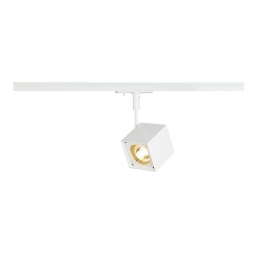 Marbel 143351 SLV 1PHASE-TRACK, ALTRA DICE светильник для лампы GU10 50Вт макс, белый