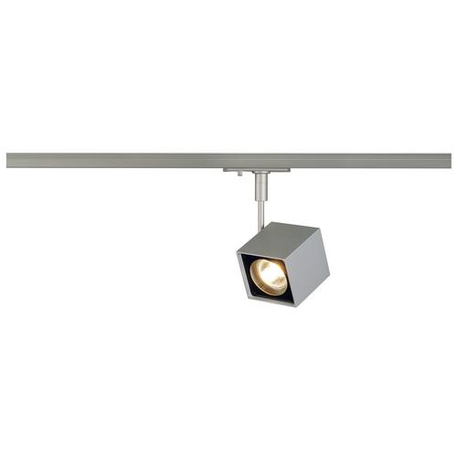 Marbel 143354 SLV 1PHASE-TRACK, ALTRA DICE светильник для лампы GU10 50Вт макс, серебристый/ черный