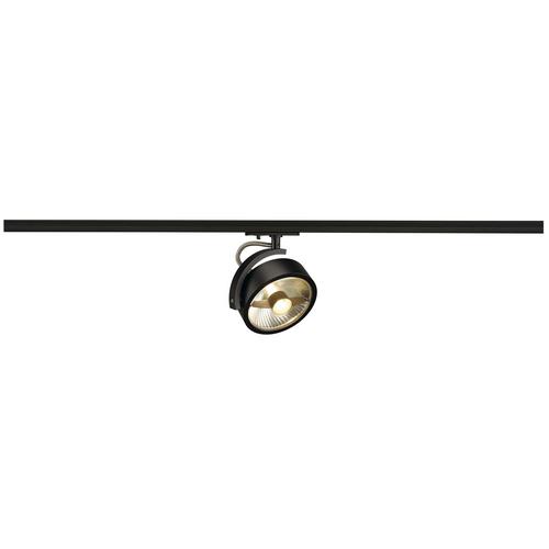 Marbel 143540 SLV 1PHASE-TRACK, KALU TRACK ES111 светильник для лампы ES111 75Вт макс., черный