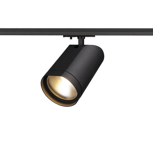 Marbel 143560 SLV 1PHASE-TRACK, BILAS светильник 16Вт c LED 2700К, 1000лм, 60°, черный