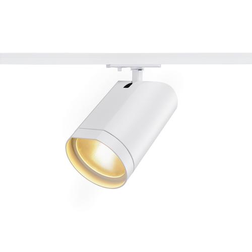 Marbel 143561 SLV 1PHASE-TRACK, BILAS светильник 16Вт c LED 2700К, 1000лм, 60°, белый
