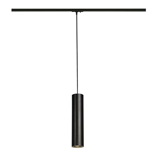 Marbel 143960 SLV 1PHASE-TRACK, ENOLA_B PD-1 светильник подвесной для лампы GU10 50Вт макс., черный