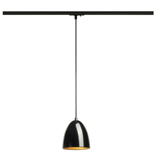 Marbel 143990 SLV 1PHASE-TRACK, PARA CONE 14 светильник подвесной для лампы GU10 35Вт макс., черный/ золото