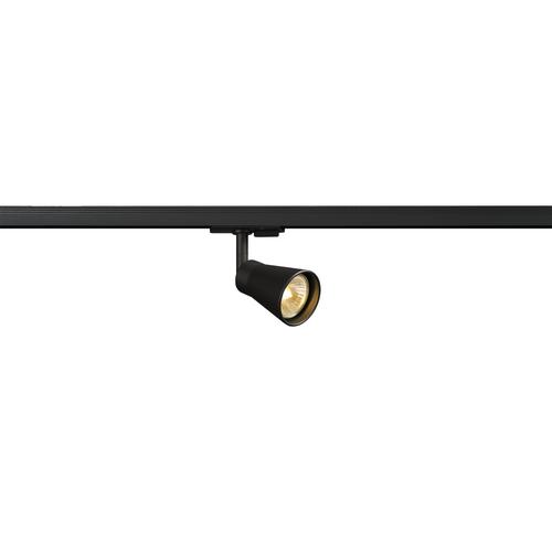 Marbel 144200 SLV 1PHASE-TRACK, AVO светильник для лампы GU10 50Вт макс., черный