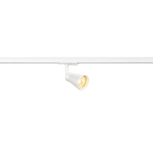 Marbel 144201 SLV 1PHASE-TRACK, AVO светильник для лампы GU10 50Вт макс., белый